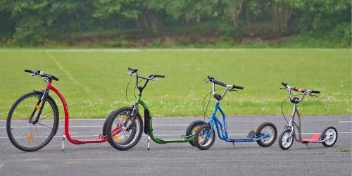 Kick Bikes and scooters