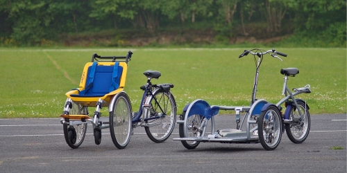 Wheelchair cycles